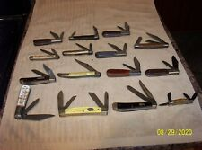 Vintage Barlow Dale Evans Folding Pocket Knife - Plus 14 Other Pocket Knives