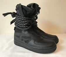Nike SF AF1 Hi Air Force 1 High Black Dark Grey Camo AA1128 002 DS Mens Sz 8.5