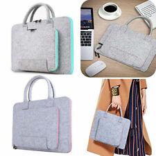 2Colors Felt Laptop Bag Portable Notebook Computer Sleeve Cover  Laptop Case UK
