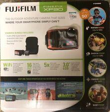 New Boxed Fujifilm FinePix XP90 Waterproof Digital Camera Orange