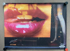 Super RARE! SIGNED Daido Moriyama - DAIDO TOKYO (Lips), 2016 Exhibition Poster