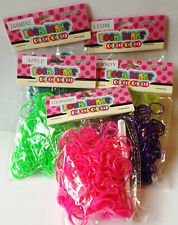 NEW 300 SCENTED ELASTIC RUBBER BANDS FRIENDSHIP LOOM STRAWBERRY & MORE SALE