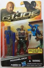 "ROADBLOCK Hasbro GI JOE Retaliation Movie 2012 3.75"" ACTION FIGURE"