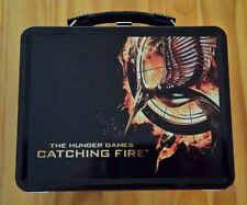 Hunger Games Catching Fire Metal Lunch Box Set Jennifer Lawrence