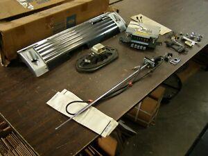 NOS OEM Ford 1967 Galaxie 500 AM Radio Kit Antenna Speaker Dash Bezel Knobs