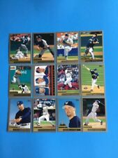 """2000 TOPPS"""" MILWAUKEE BREWERS"""" TEAM SET W/TRADED, PROSPECTS, DP (18) CARDS  NM"""