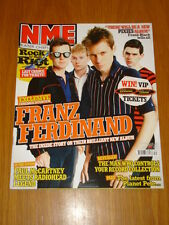 NME 2005 JUL 30 FRANZ FERDINAND PIXIES PAUL MCCARTNEY