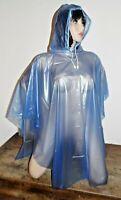 cape taille unique long neuf capuche 100% PVC rain coat mac fetish ukOs rainwear