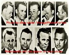 Bank Robber FBI Most Wanted John Dillinger Gangster Compilation Photo Picture