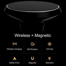 Wireless Qi Cell Phone Charger Air Vent Car Charging Mount Holder Magnetic