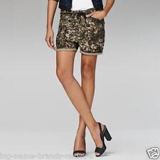 NEW - NWT - RRP $150 - Womens G-Star Raw  'ARMY ROVIC AOP SHORT WMN'  Shorts