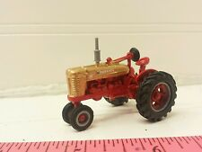 1/64 ERTL custom farm toy international farmall model m tractor gold demonstratr