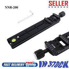 NNR-200 200-mm-Schienenknotenschlitten Metall-Schnellspanner für DSLR-Kamera