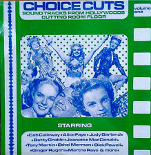 CHOICE CUTS - SOUNDTRACKS FROM HOLLYWOODS CUTTING ROOM FLOOR - SEALED LP