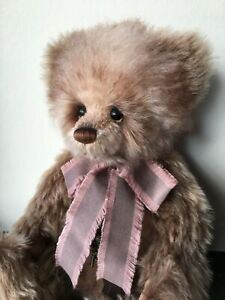 Charlie Bears Davies Isabelle Lee Mohair Bear Limited Edition