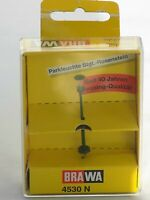 N Scale Brawa 4530 N Park Light Stgt.-Rosenstein Brass-Quality NIB
