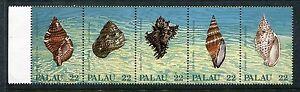Palau 150-154, MNH. Marine Life, Shell 1987  x18890