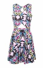 Select Reflection Tropical Cutout Dress Size 14/42 BNWT RRP £16.98 Multi