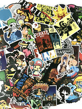 100 Lot Anime One Piece Characters Laptop PS XBOX Notebook Decal Sticker Pack