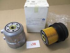 Filtro de aceite con carcasa oil filtro + housing original Mopar 5015064aa Jeep/Dodge
