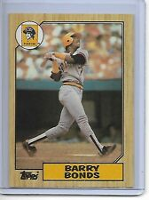 1987 Topps Barry Bonds Rookie #320