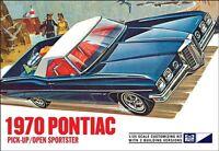 MPC 1970 Bonneville Convertible or Pickup 1/25 plastic model car kit new 840