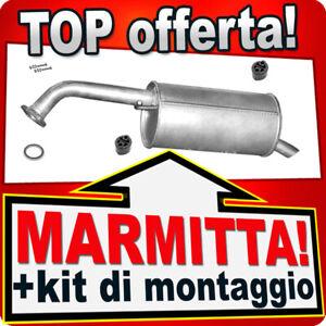 Silenziatore posteriore MAZDA PREMACY (CP) 1.8/1.9 2.0 1999-2005 Marmitta BBF