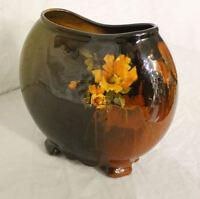 Antique Louwelsa Weller Pottery Pillow Shaped Vase