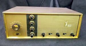Altec 344A Mono Vacuum Tube Amplifier Working RARE Metal Cabinet EL-84 Outputs!!