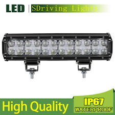 12inch LED Work Light Bar Spot Flood Combo DRL Driving Light For Trucks Dual Row