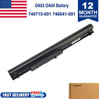 Spare 746641-001 Laptop Battery For HP OA03 OA04 740715-001 746458-421 751906-54