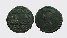 BOLOGNA - INNOCENZO XII 1691-1700 -AE/ QUATTRINO 1699