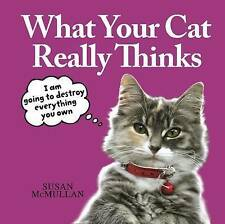 What Your Cat Really Thinks, Susan McMullan, 1845026527, New Book
