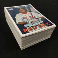 Lot of 76 DAVID ORTIZ 2008 Topps Trading Card History Boston Red Sox TCH42 MLB