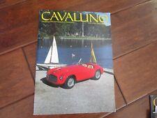 VINTAGE CAVALLINO FERRARI MAGAZINE NUMBER 44 April 1988