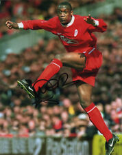 Emile Heskey, Liverpool & England, signed 10x8 inch photo. COA.