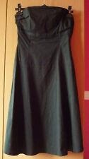 Zwarte gevoerde strapless jurk van Pimkie Maat 38
