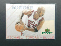 1999-00 UD MVP Michael Jordan Draw Your Own Winner Triple Threat, Bulls