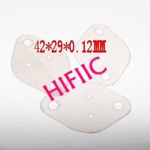 50PCS TO3 Transistor Mica Insulator 42*29*0.12MM