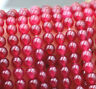 """AAA+++ New Natural 4mm  Brazil Red Ruby Gemstones Loose Beads 15"""""""