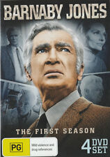BUDDY EBSON: BARNABY JONES Season 1 Brand New but UNSEALED 4-DVD Set All Regions