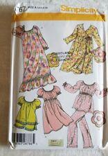 Simplicity Pattern 4767 Childs Loungewear & Pillow Size 3,4,5,6,7,8 Uncut 2004