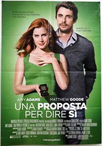 EBOND Una Proposta Per Dire Si - Locandina Originale Cinema O_L0143