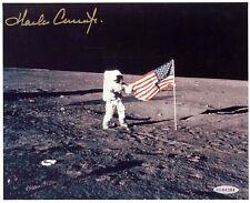 """Nasa Astronaut Charles """"Pete"""" Conrad hand signed 8""""x10"""" Lunar Eva Photo"""