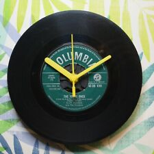 """Cliff Richard """"The Young Ones"""" Retro Chic 7"""" Vinyl Record Wall Clock"""