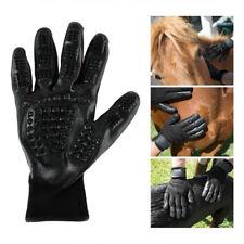 1 Pair Pet Dog Cat Horse Cleaner Grooming Gloves Brush Hair Remover Massgae