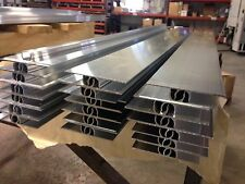 "25pc 4' Extruded Aluminum Heat Transfer Plate for 1/2"" pex tubing"