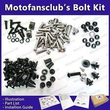 Motofansclub Full Fairing Bolt Kit for Honda Suzuki Kawasaki Yamaha Bundle GM