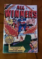 All Winners Comics # 21 Golden Age Replica Edition
