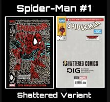 Spider-Man #1 Shattered Variant 30th Anniversary Edition Presale RED Facsimile
